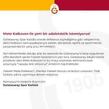 Galatasaray - Mete Kalkavan ile yeni bir adaletsizlik...