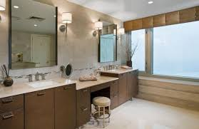 bathroom vanity table and chair. vanity dressing table with upholstered chair and round mirror bathroom w