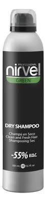 Сухой <b>шампунь</b> для волос Green Dry <b>Shampoo</b> 300мл <b>Nirvel</b> ...