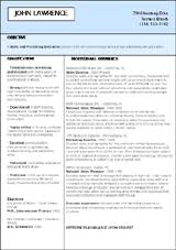 the templates are crisp roomy and are designed to let the most important parts of your impressive resume formats