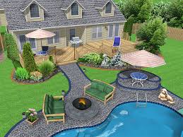 Chic Backyard Landscape Design Plans Landscape Plans Landscape Small Backyard Landscaping Plans