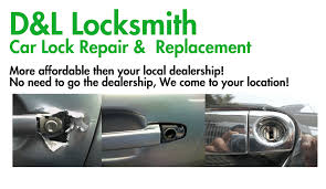 repair damaged car door lock