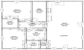 Barn Blueprints | Pole Barn House Floor Plans | Pole Barn with Living  Quarters