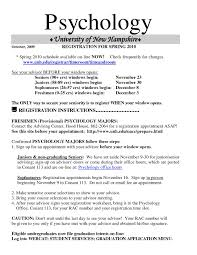 Examples Or Resumes Psychology Resume Psychology Resume Examples Examples Resumes 18