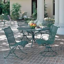 Furniture  Rod Iron Patio Furniture Better Black Wrought Iron Wrought Iron Outdoor Furniture Clearance