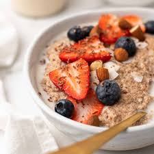 "Easy <b>Low</b>-<b>Carb</b> ""<b>Oatmeal</b>"" (Ready in 15 Minutes) 