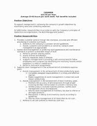53 Beautiful Cover Letter For Cashier Awesome Resume Example