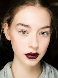 glitter gothic dark lipore glitter the makeup at new york fashion week s fall 2016 season was as gilded at it gets these are the looks we loved