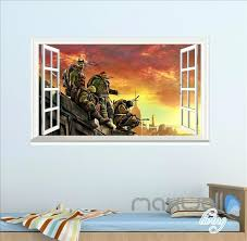 full size of wall arts ninja turtle wall art ninja turtle out of shadows window