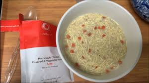 Optavia Fueling Review Chicken Flavored Vegetable Noodle