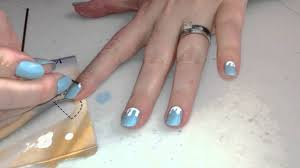 Art For Non Artists Nail Art For Non Artists Icicles Youtube