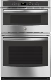 ge pk7800skss 27 inch combination electric wall oven with 6 total cu