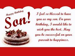 Quotes From Mother To Son On His Birthday Amazing The 48 Happy Birthday Son From Mom WishesGreeting