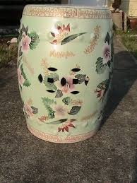 antique vintage chinese hand painted