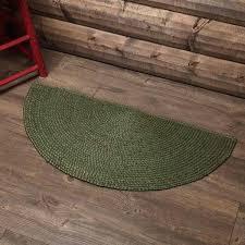cypress jute half circle rug semi classroom rugs