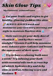 Healthy glowing skin tips! ✨ | SELF CARE ✨ in 2018 | Pinterest ...