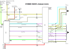radio wiring diagram mustang radio wiring diagrams online