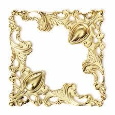 12pcs sbook book corner jewelry gift box al decorative protector cover 41x41x0 5mm silver