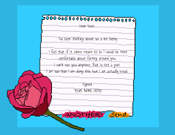 Becky Pennock Alienmelon The Breakup Letter Generator Also