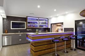 modern home bar furniture lighting Stylish and Modern Home bar