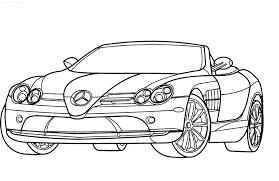 Coloriage Voiture Mercedes Imprimer Sur Coloriages Info