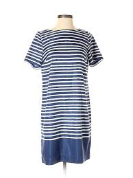 Details About Nwt The Limited Women Blue Casual Dress Sm Petite