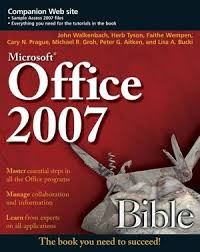 office 2007 bible office productivity microsoft general office 2007 bible