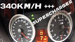 Bmw M3 E92 Supercharger Top Speed 340 Km H Acceleration 0 340 Km H Youtube