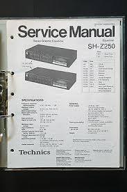 technics sh z250 eualizeroriginal service manual manual wiring technics sh z250 eualizeroriginal service manual manual wiring diagram top
