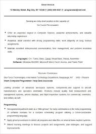 Resume Templates For Mac Cool Sample Software Programmer Resume Template Mac Resume Template