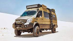 Panels can be removed or reconfigured to work in multiple configurations to fit your needs. This Sprinter Expedition Camper Van Is Hulked Out For Off Roading