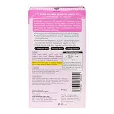 biore makeup remover wipes that instantly removes all traces of makeup even waterproof maa