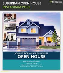 Free House Flyer Template Estate Agent Brochure Template New Good Free Open House Flyer