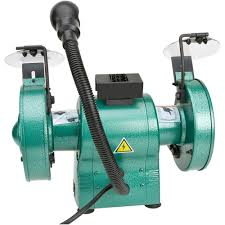 Grizzly T24463 6 Bench Grinder With Work Light