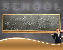Teachers Powerpoint Templates Course Teacher Explaining Backgrounds For Powerpoint Education Ppt