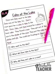 Context clues worksheet fact and opinion worksheet cause and effect. Free Phonics Reading Passages Students Love To Read