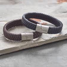personalised celtic knot bracelet for men