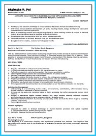 Agile Business Analyst Resume Create Your Astonishing Business Analyst Resume And Gain The Position 19
