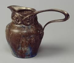 milk jug alexandre bigot edward colonna work of milk jug