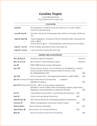 Resume Header Template 1 8 Bibliography Format
