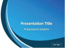 Blue Power Point Templates Download White And Blue Abstract Background Powerpoint Template