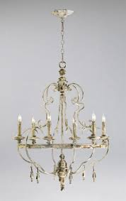 amazing french country chandelier with chains and iron arm lamp plus small bulb lamps also white wall and white ceiling for interior design ideas