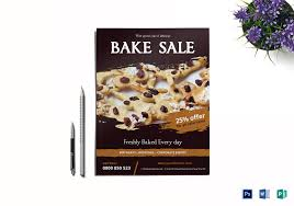 bake sale flyer templates bake sale flyer design template in word psd publisher
