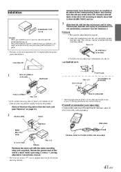 alpine cda 105 installation 200 watt am fm mp3 ipod receiver Alpine Cda 105 Wiring Diagram cda 105 owners manual alpine cda-105 wiring diagram
