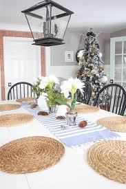 white kitchen table makeover the