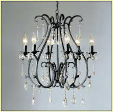 iron and crystal chandelier plus black wrought iron chandelier lighting cast iron crystal chandelier 313