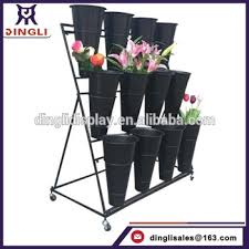 Flower Display Stand For Sale Hot Sale Fancy Beautiful Flower Display StandFlower Shop Display 12