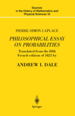 pierre simon laplace philosophical essay on pierre simon laplace  pierre simon laplace philosophical essay on probabilities