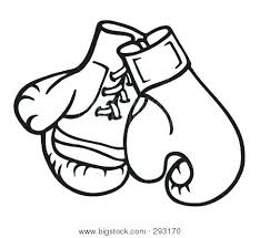 Boxing Gloves Coloring Pages Printable Boxing Gloves Coloring Pages