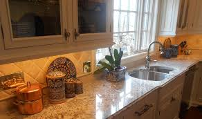 kitchen countertop granite white springs ogee edge detail